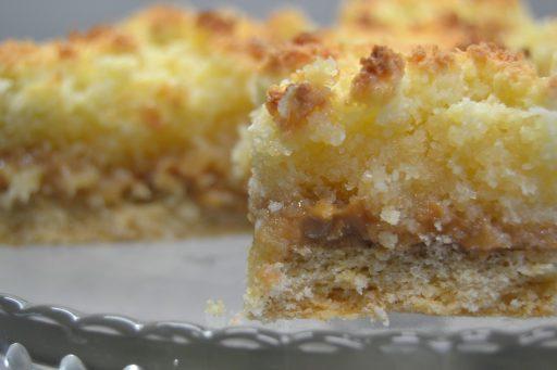 tarta de coco y dulce de leche receta
