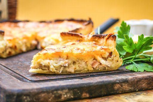 tarta de pollo receta