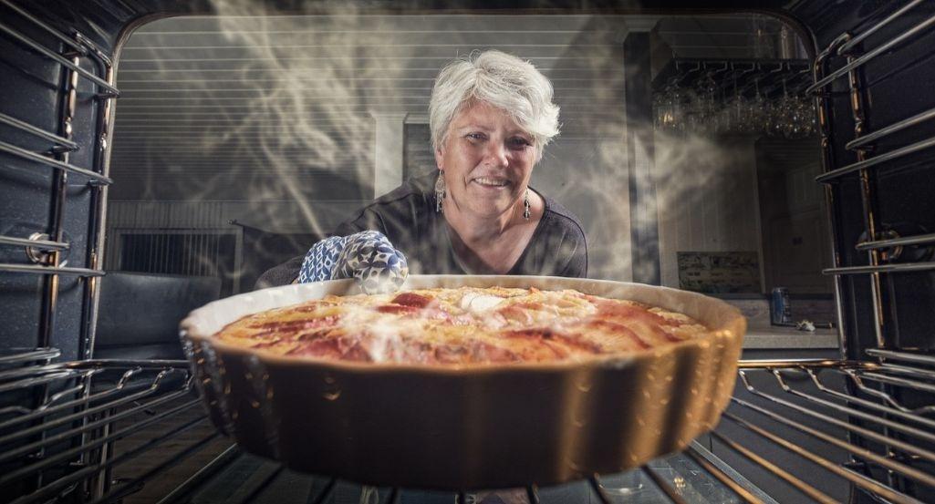 donde cocinar la tarta al horno